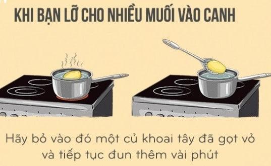 mẹo nhà bếp hay